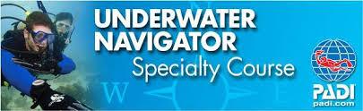 Onderwater navigatie